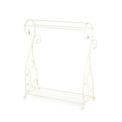 Whitewash Quilt Rack