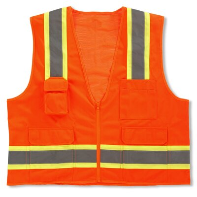 Ergodyne GloWear 8248Z Class-2 Two-Tone Surveyors Vest