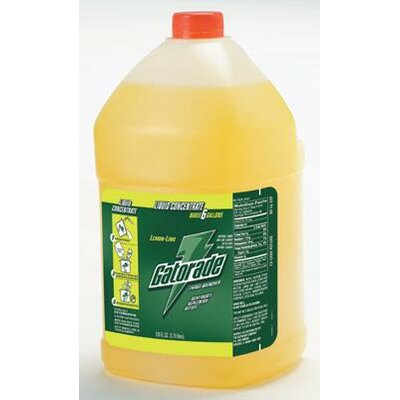 Gatorade Gallon Liquid Concentrate Lemon-Lime - Yields 6 Liquid Gallons