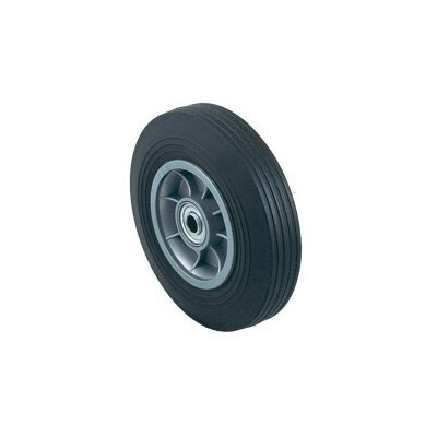 "Harper Trucks 8"" X 2"" 300 Pound Load Capacity Solid Rubber Tire With Ball Bearing Wheel"