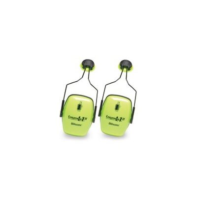 Howard Leight by Sperian Leightning® L1HHV Hi-Visibility Noise Blocking Slimline Cap Mounted Earmuffs NRR 30