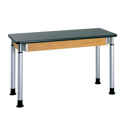 Diversified Woodcrafts Adjustable Height Science Table With ChemArmor Top