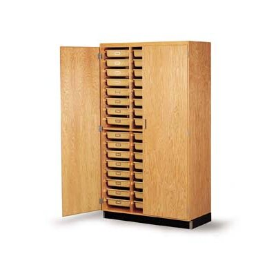 Diversified Woodcrafts Tote Tray Storage Cabinet