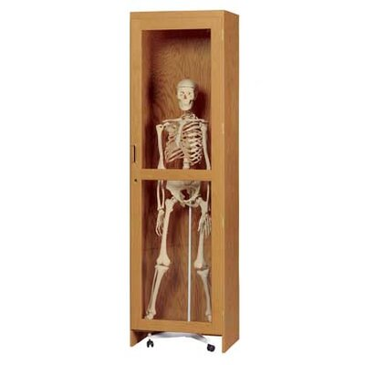 Diversified Woodcrafts Mobile Skeleton Cabinet