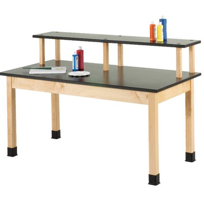 Diversified Woodcrafts Fixed Height Riser Table