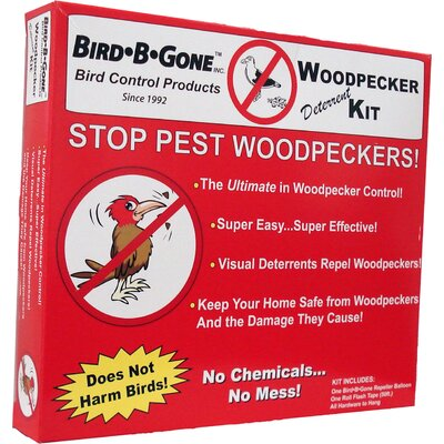 Bird B Gone Woodpecker Repeller Kit