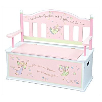 Fairy Wishes Kid's Storage Bench