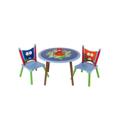 Levels of Discovery Owls Kids' 3 Piece Table and Chair Set