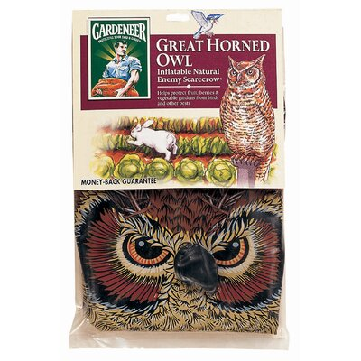 Gardeneer Natural Enemy Scarecrow® Inflatable Owl NE-OR