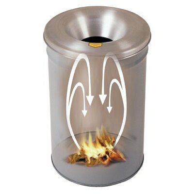 Justrite Cease-Fire® Waste Receptacles - 55gal waste receptaclesconsist of