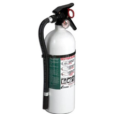 Kidde Kidde - Residential Series Living Area Fire Extinguishers 4Lb Abc Living Area Fireextinguisher: 408-21005771 - 4lb abc living area fireextinguisher
