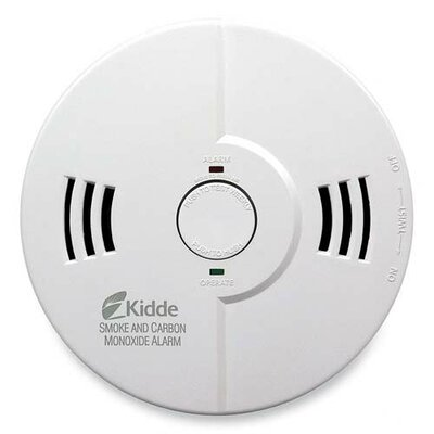 Kidde Night Hawk Combination Smoke/CO Alarm with Voice and Alarm Warning