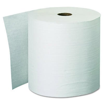"Kimberly-Clark 8"" Kleenex Hard Roll Towels in White"