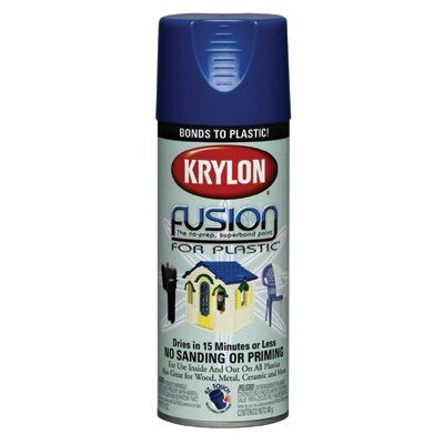 Krylon Krylon Fusion For Plastics - 12 oz burgundy fusion paint for plastic