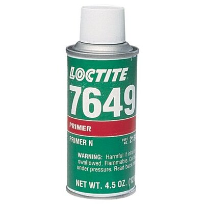 Loctite Corporation 7649™ N™ 4.5 oz. Clear Green Aerosol Acetone Primer