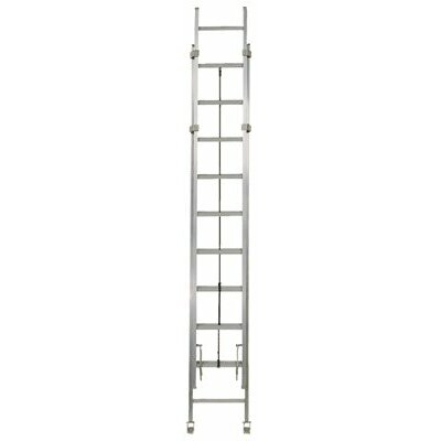 Louisville Ladder AE1200HD Series Rhino 375™ Industrial Aluminum Extension Ladders - 36' ehd two section extension ladder