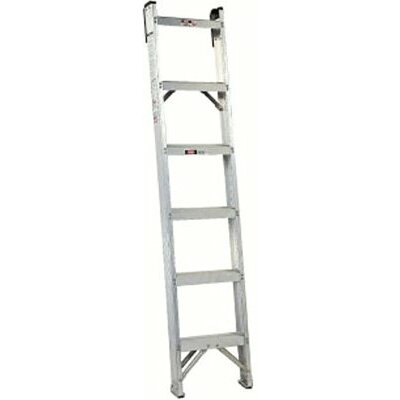 Louisville Ladder AH1000 Series Master Aluminum Shelf Ladders - 4' master shelf ladder