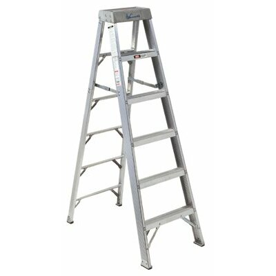 Louisville Ladder AS1000 Series Master Aluminum Step Ladders - 6' aluminum step ladder