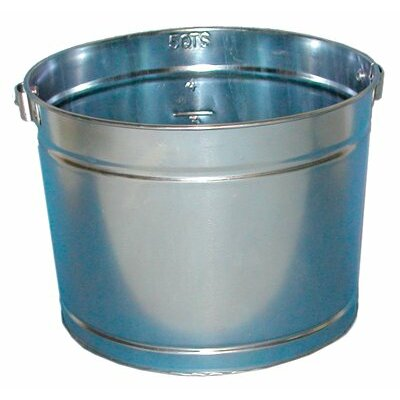 Magnolia Brush Metal Paint Pails - 5qt galvanized metal pail