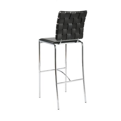 Eurostyle Carlsen Bar Chair in Black