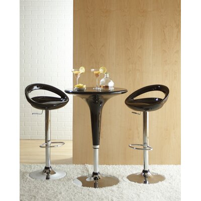 Eurostyle Agnes Adjustable 3 Piece Pub Set