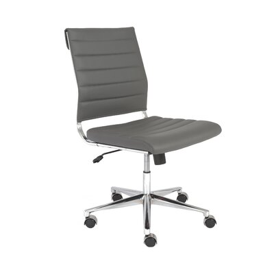 Eurostyle Axel Low-Back Leatherette Office Chair