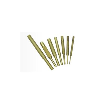 Mayhew Tools 7Pc Brass Pin Punch Set