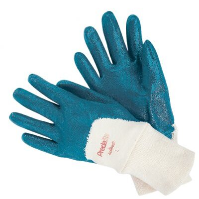 Memphis Glove Nitrile Coated Gloves - large predalite nitrilecoated glove palm coated