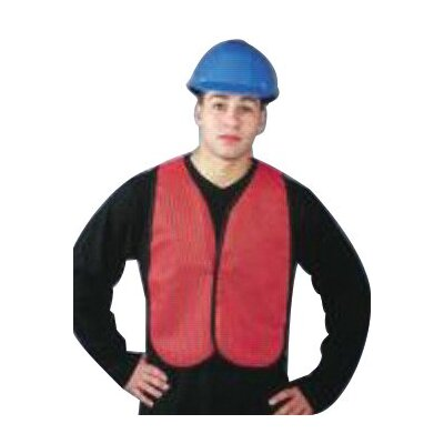 North Safety Economical Mesh Traffic Vests - regular hi-viz orange traffic vest velcro clos