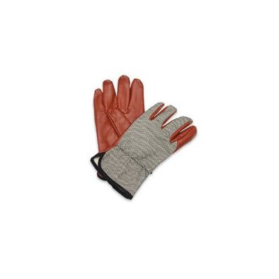 North Safety Worknit® HD Glove With Nitrile Coated Palm And Index Finger, Slip-On Cuff & Black Dash Back