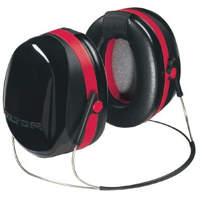 Peltor Optime 105 Earmuffs - peltor dual cup back-band hearing protector