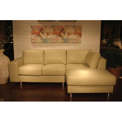 Coja Sarina Leather Sectional