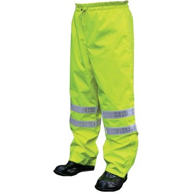 River City Pro Grade Rain Pants Cls 3 Brthable Poly/Polyureth Jacket 2&quot; Wh Vinyl: 611-598Rpwm - cls 3 brthable poly/polyureth pants 2&quot; wh vinyl