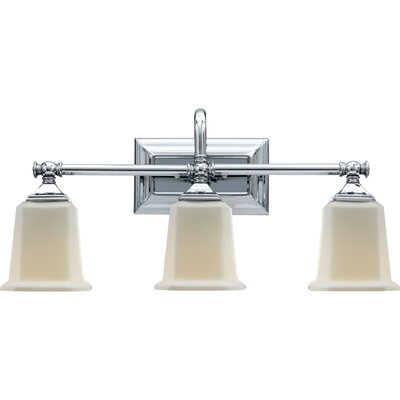 Quoizel Nicholas  Vanity Light in Polished Chrome
