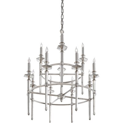 Quoizel Favray 12 Light Chandelier