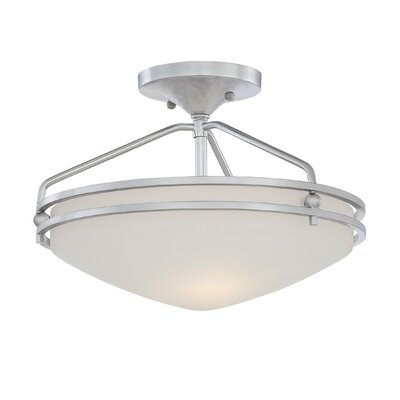 Quoizel Ozark 2 Light Flush Mount