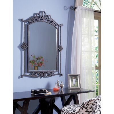 "Quoizel 40"" La Parra Wall Mirror in Imperial Bronze"