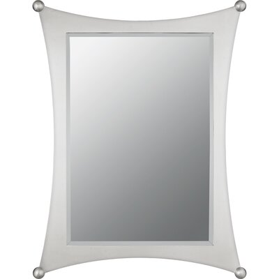 Quoizel Jasper Wall Mirror in Brushed Nickel