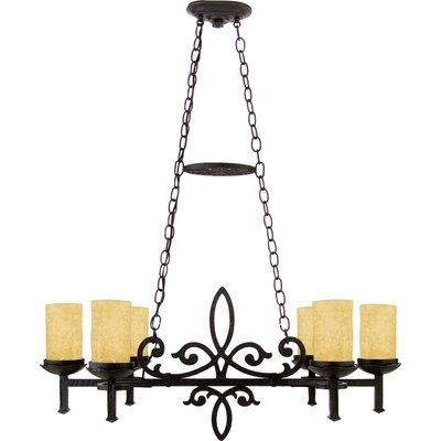 Quoizel La Parra 6 Light Chandelier