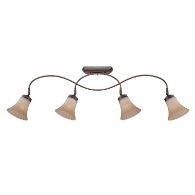 Aliza 4 Light Ceiling Track Light