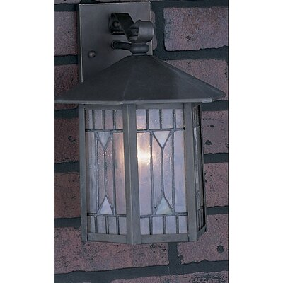 Quoizel Small Chaparral Outdoor Wall Lantern in Medici Bronze