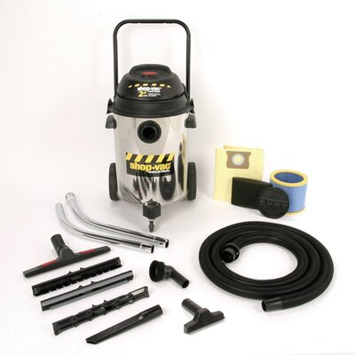 Shop-Vac 10 Gallon 2.5 Peak HP Two-Stage Industrial Multi Purpose Wet / Dry Vacuum
