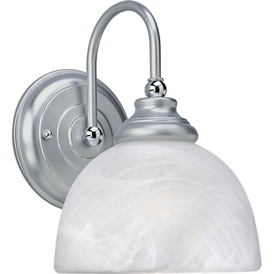 Progress Lighting Bath Match Wall Sconce in Brushed Platinum