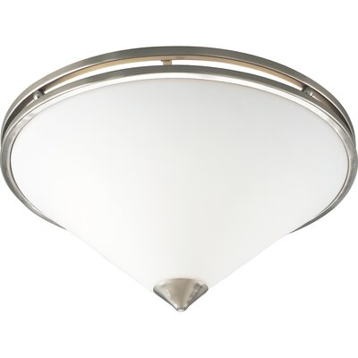 Progress Lighting Metro Brushed Nickel Flush Mount