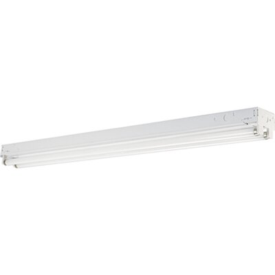 Energy Star Two 32W Fluorescent Strip Light with Electronic Ballast