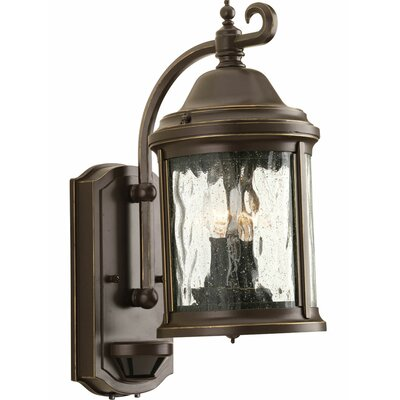 Progress Lighting Ashmore 2 Light Outdoor Wall Lantern with Motion Sensor