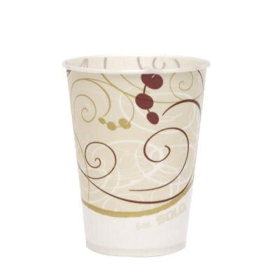 Solo Cups 6 oz Waxed Paper Cold Cups