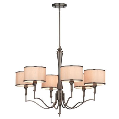 Thomas Lighting Gramercy Park 6 Light Chandelier