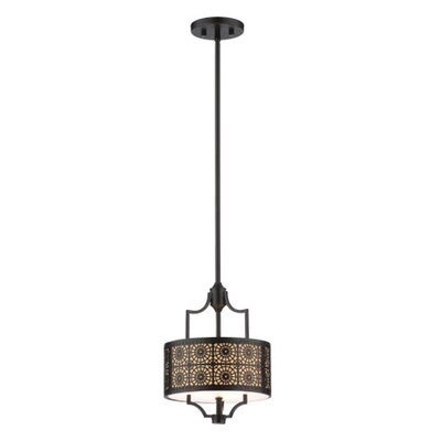 Thomas Lighting Axis 3 Light Mini Drum Pendant