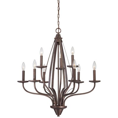 Churchill 9 Light Chandelier